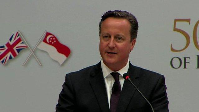 Cameron in Vietnam