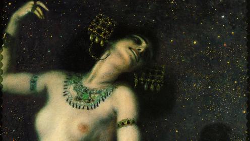 Salomé por Franz von Stuck, 1906