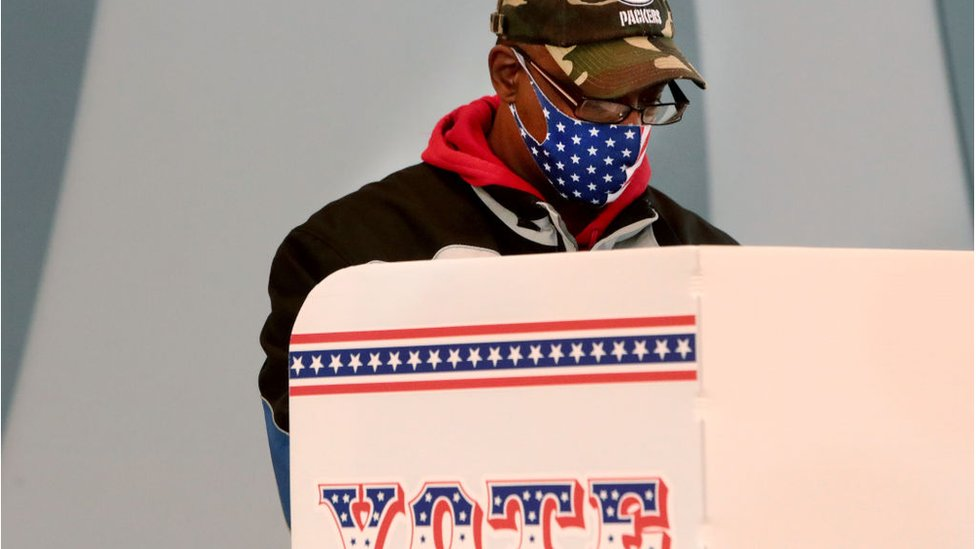 Early voting in Wisconsin