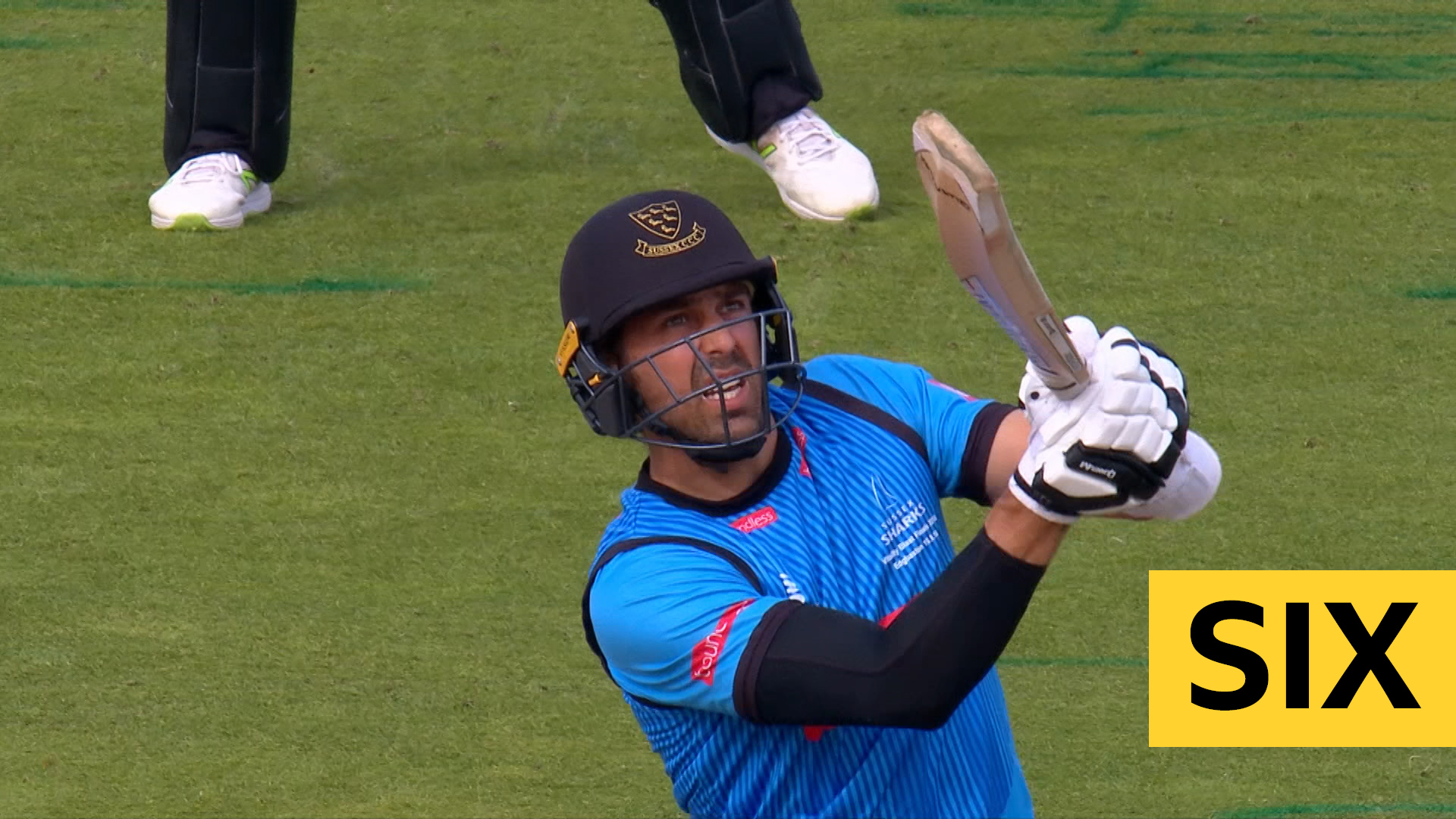 T20 Blast finals day: Sussex's Wiese hits massive six into fourth tie against Somerset