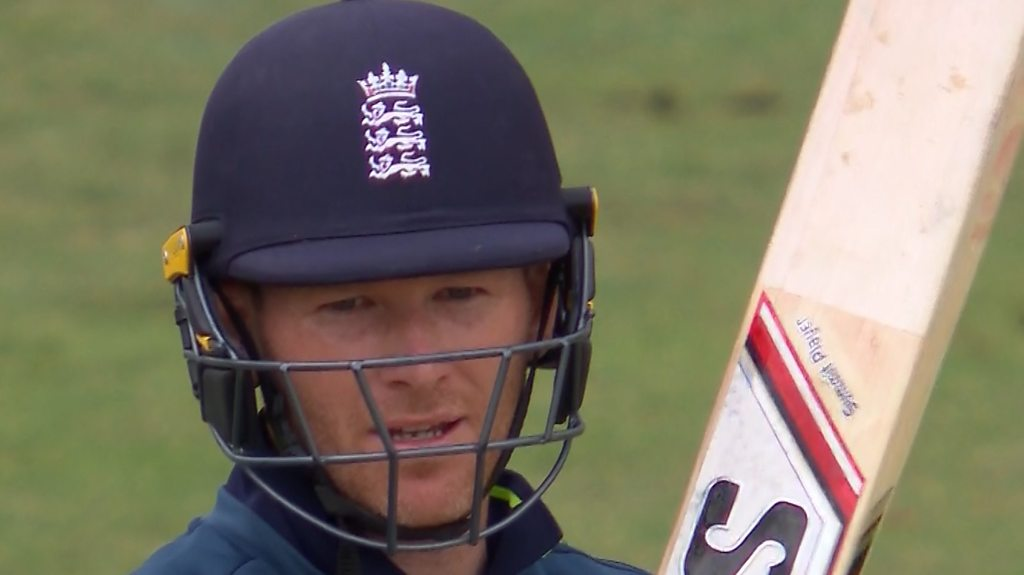 England v Australia: Eoin Morgan becomes England's highest ODI run-scorer