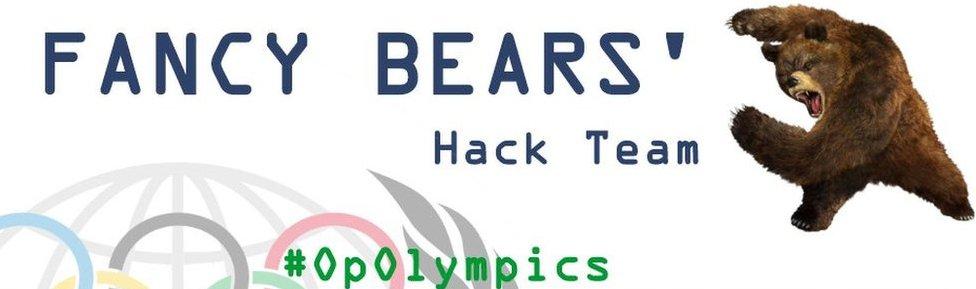 Screenshot - Fancy Bears website