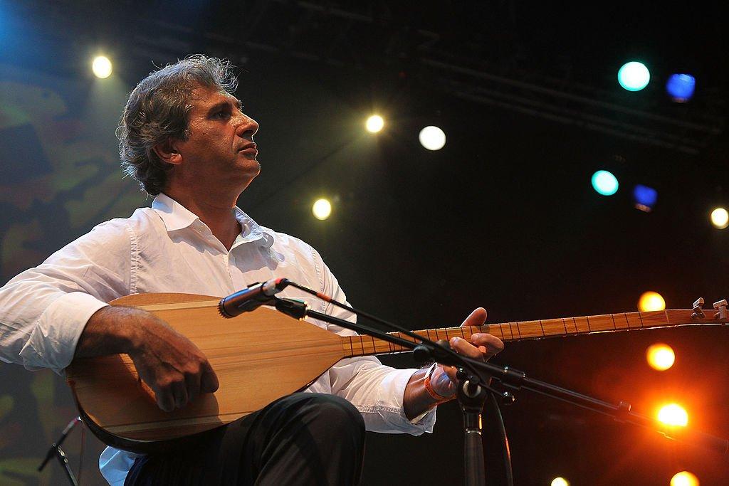 بسام سابا، في حي بروكلين في نيويورك عام 2011