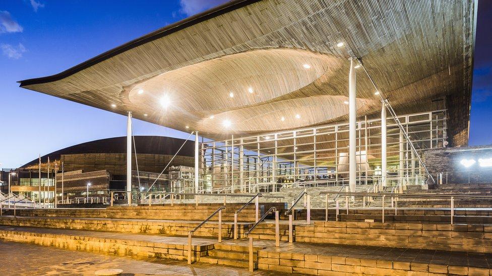 The Senedd - Welsh Parliament