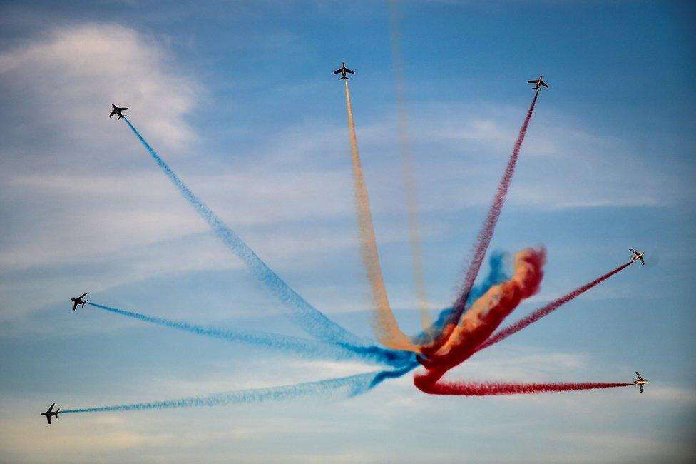 Elitni francuski akrobatski leteći tim Patrouille de France