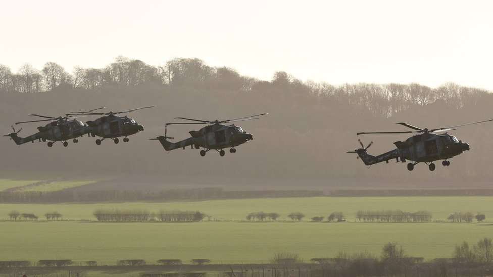 Lynx at Middle Wallop
