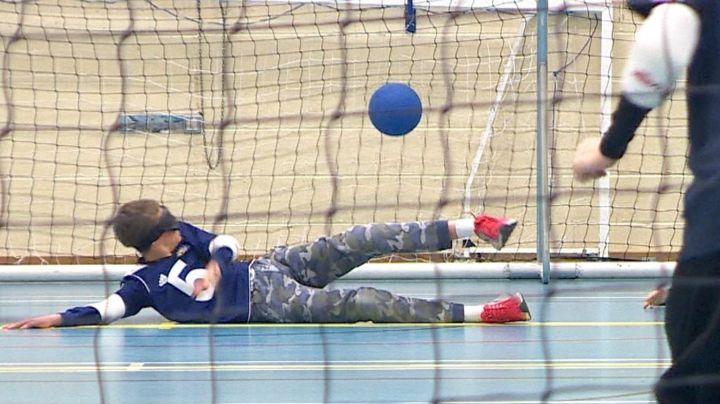 Goalball: The sport you play in a blindfold