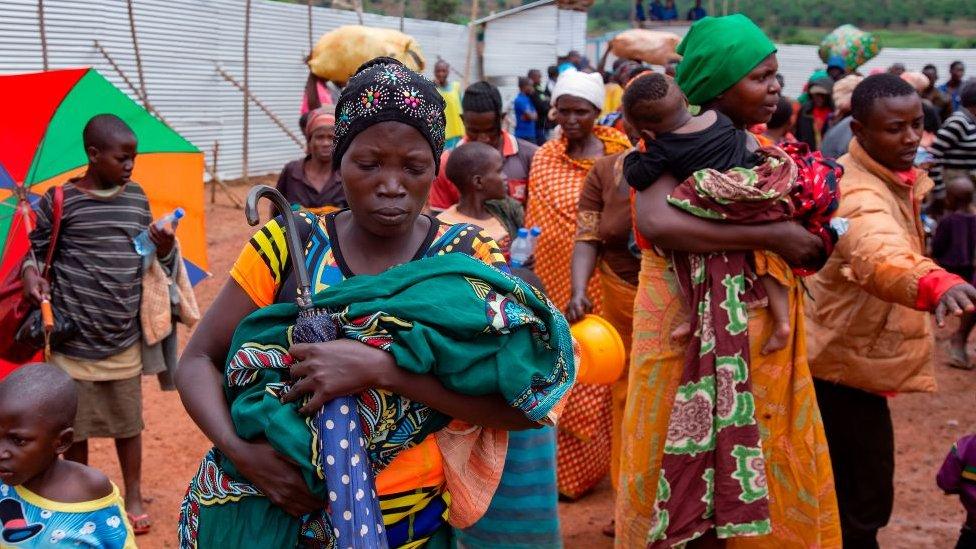 Burundian refugees in Tanzania