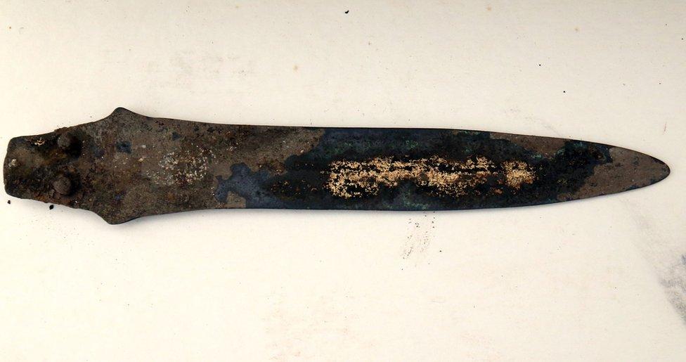 Dagger found at Must Farm