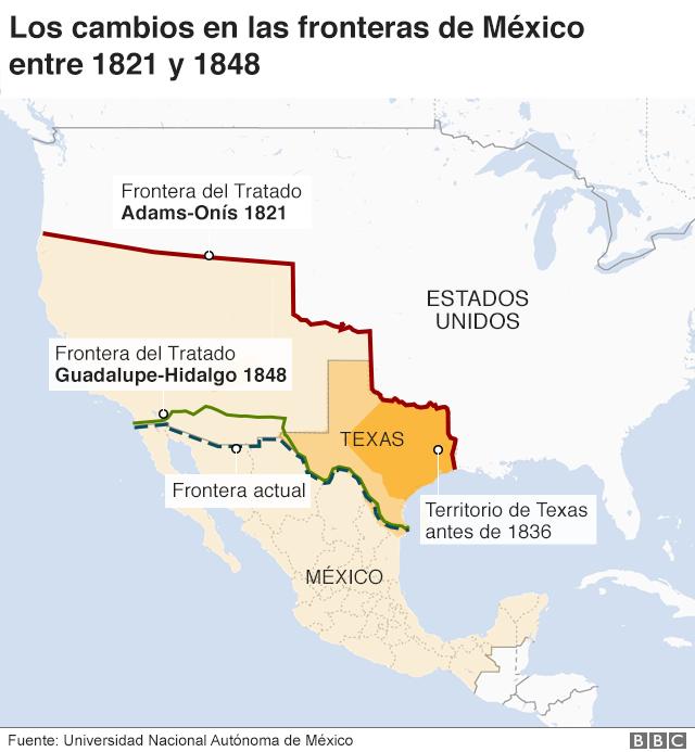 Fronteras durante los años de conflicto