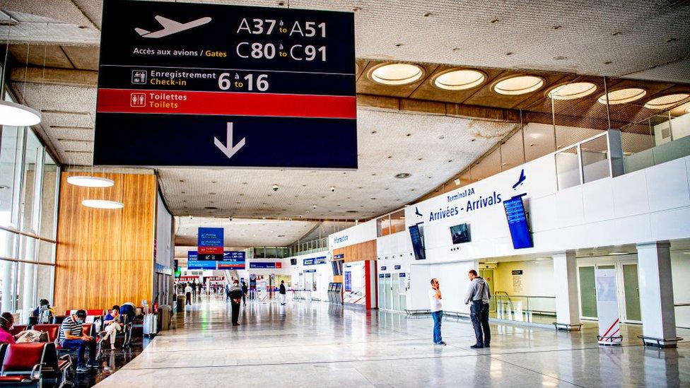 Aeropuerto París-Charles de Gaulle