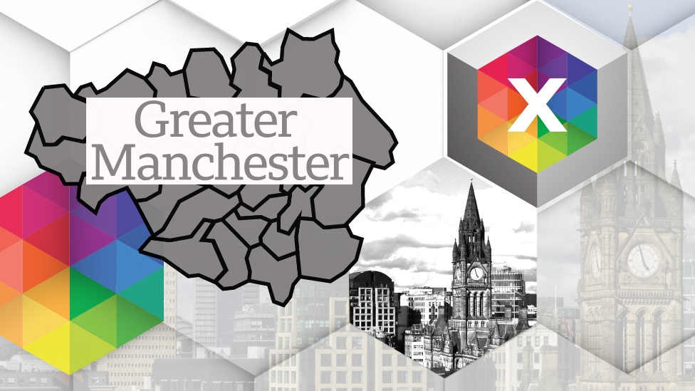 Greater Manchester election map