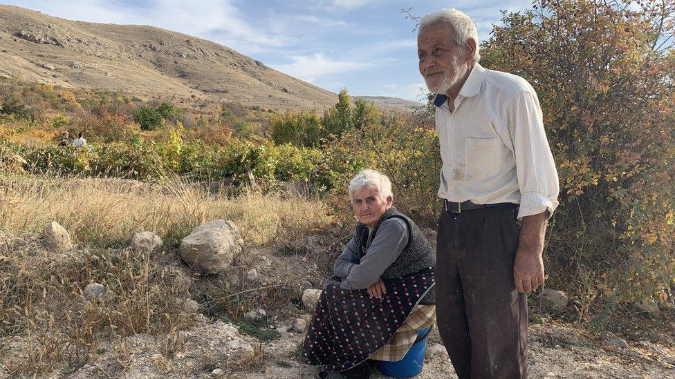 Жизнь в армянской деревне на границе с Нахичеванью: виноградники в тени войны