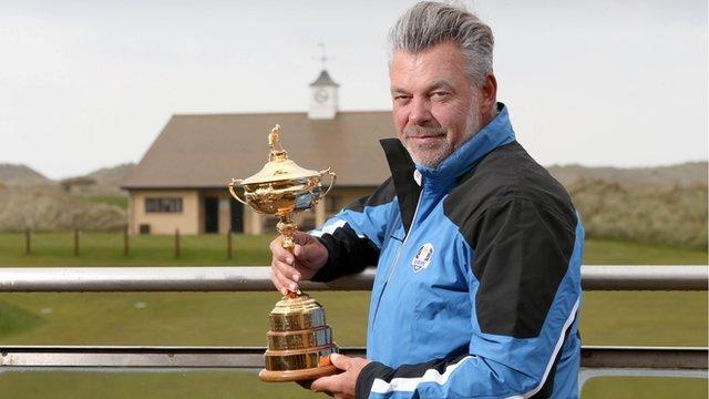 Ryder Cup captain Darren Clarke