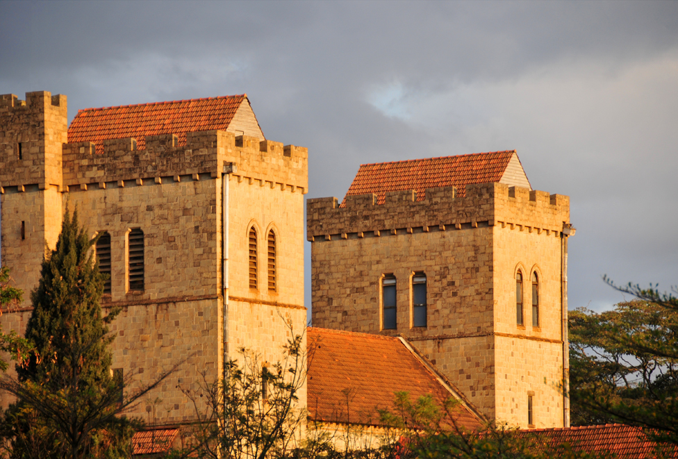 All Saint's Cathedral is the national Anglican cathedral in Nairobi