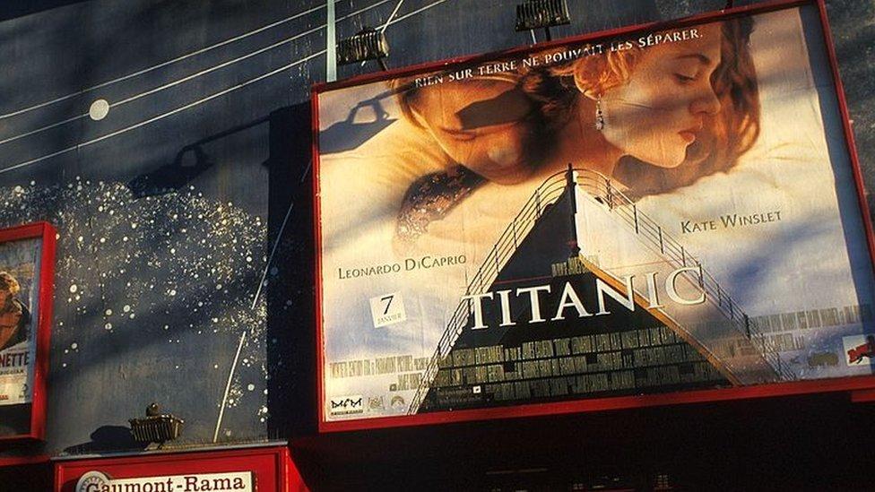 ملصق فيلم تايتانيك