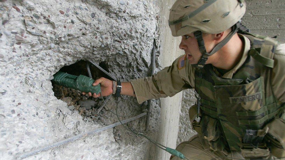 Estados Unidos a menudo usa el C4 en operaciones militares.
