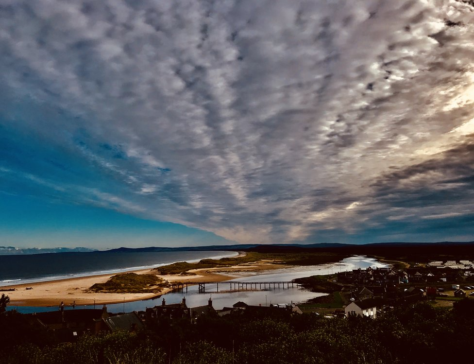 Lossiemouth in all its glory, from Douglas T Coutts.