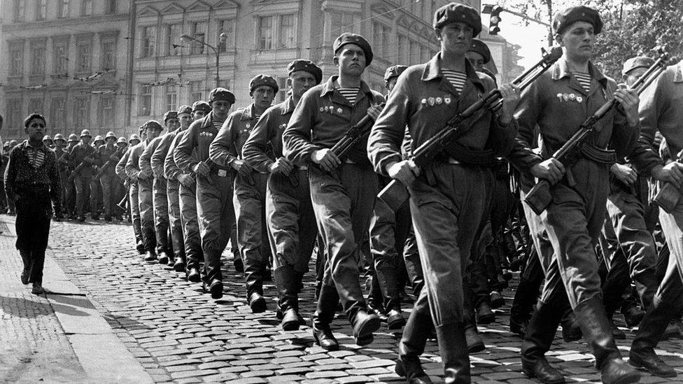 invasión soviética de Checoslovaquia.