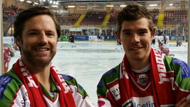 Gareth Rhys Owen with Luke Rowe