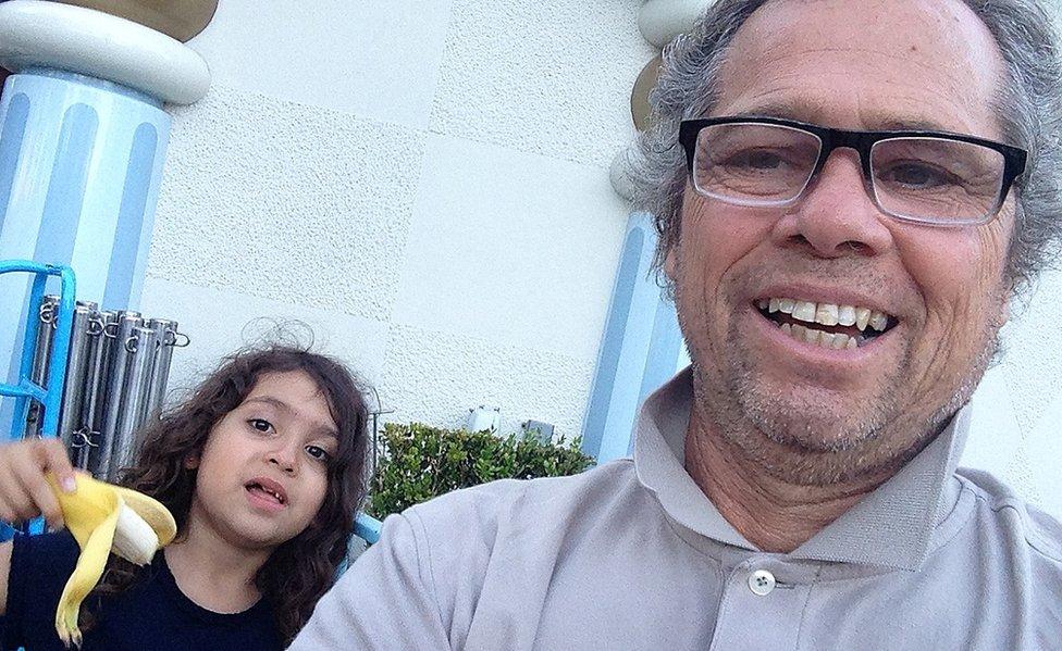 Bocxe y su hija Amara.