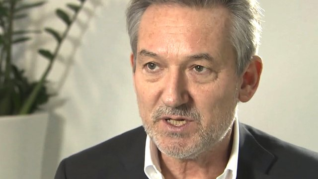 Virgin Media chief executive Tom Mockridge