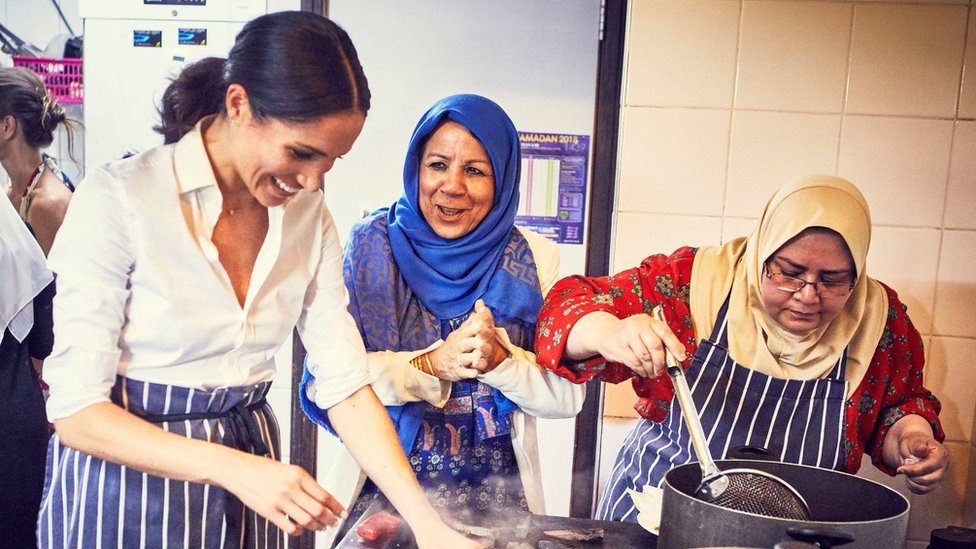 Duchess of Sussex launches cookbook for Grenfell
