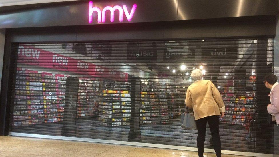 HMV Meadowhall, Sheffield