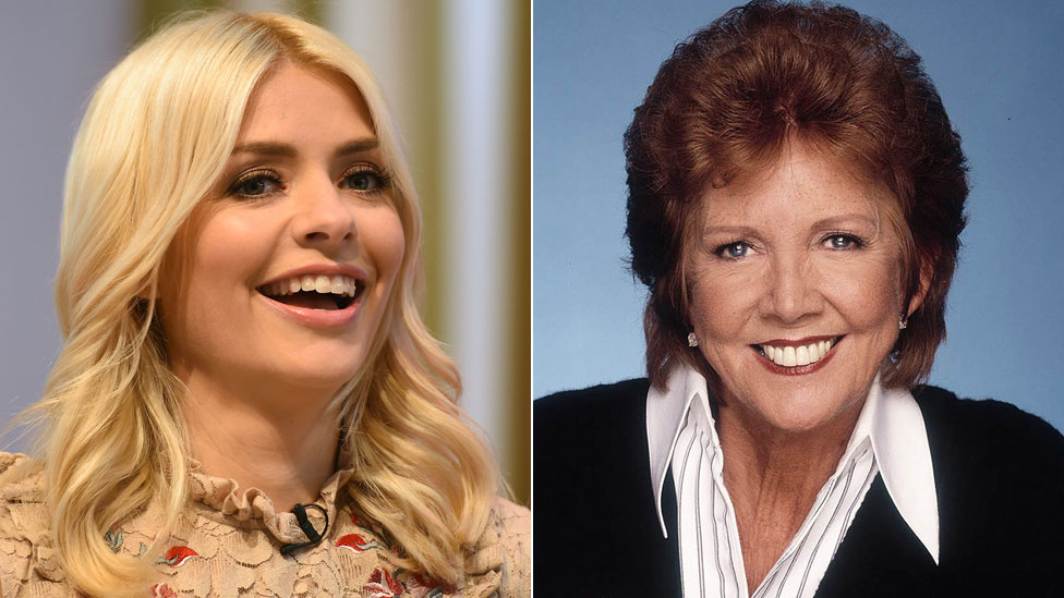 Holly Willoughby and Cilla Black