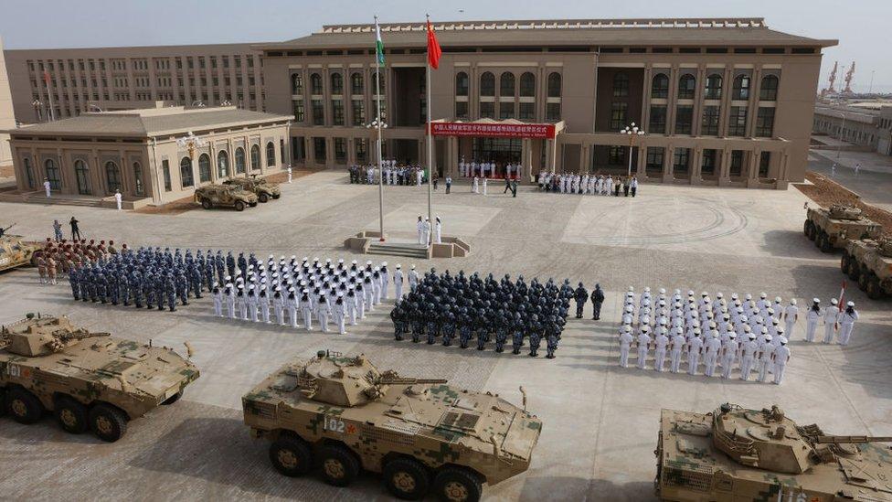 القاعدة الصينية في جيبوتي