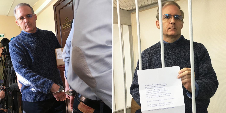 Pol Velan stiže sa lisicama na rukama i drži ličnu izjavu na sudu