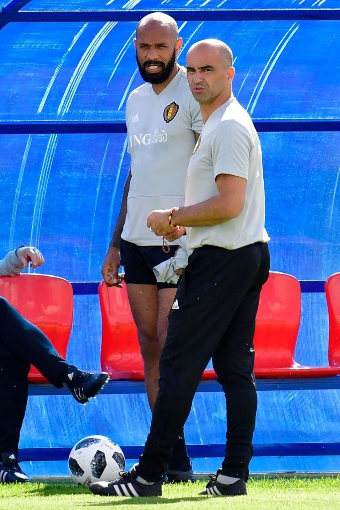 Uno de los principales ayudantes de Martínez en Bélgica es el francés Thierry Henry, que tendrá sentimientos encontrados en el partido de semifinales contra Francia.