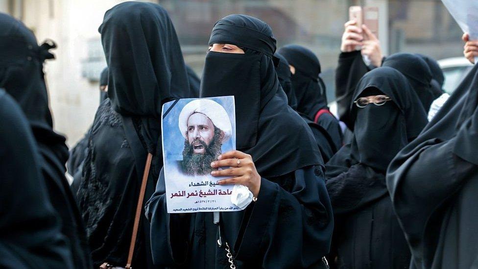 شاركت إسراء الغمغام بنشاط في مظاهرات القطيف أثناء احتجاجهم على قرار إعدام رجل الدين الشيعي نمر النمر