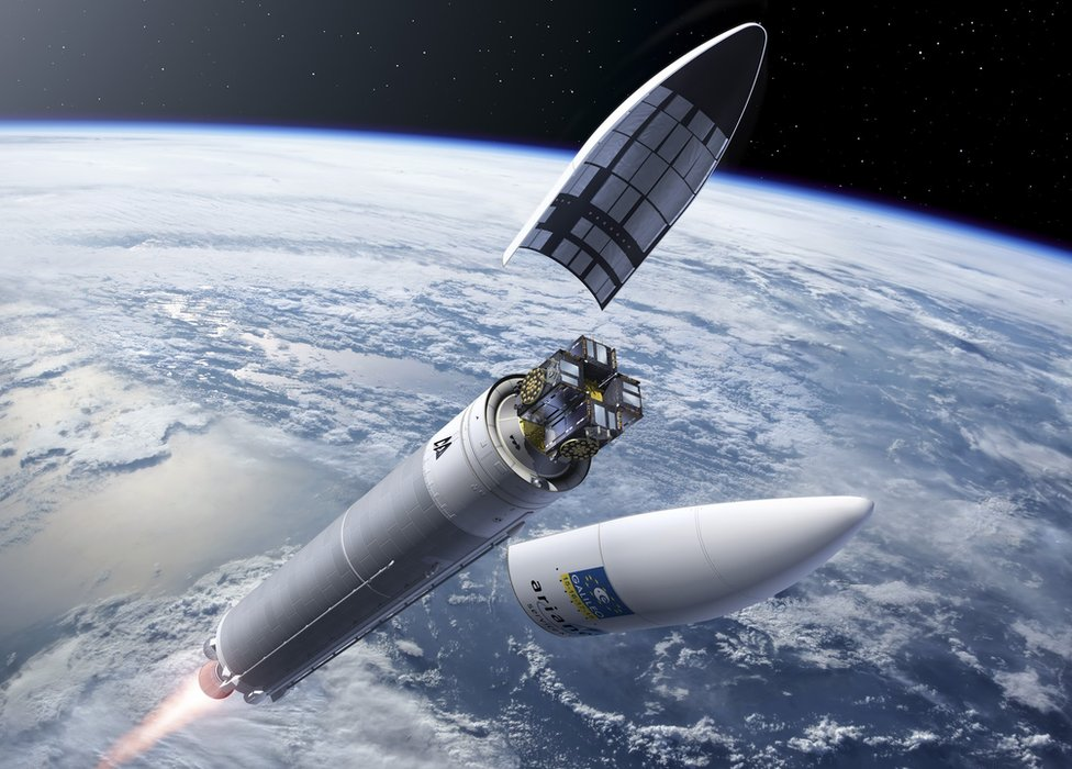 Artwork: Ariane 5