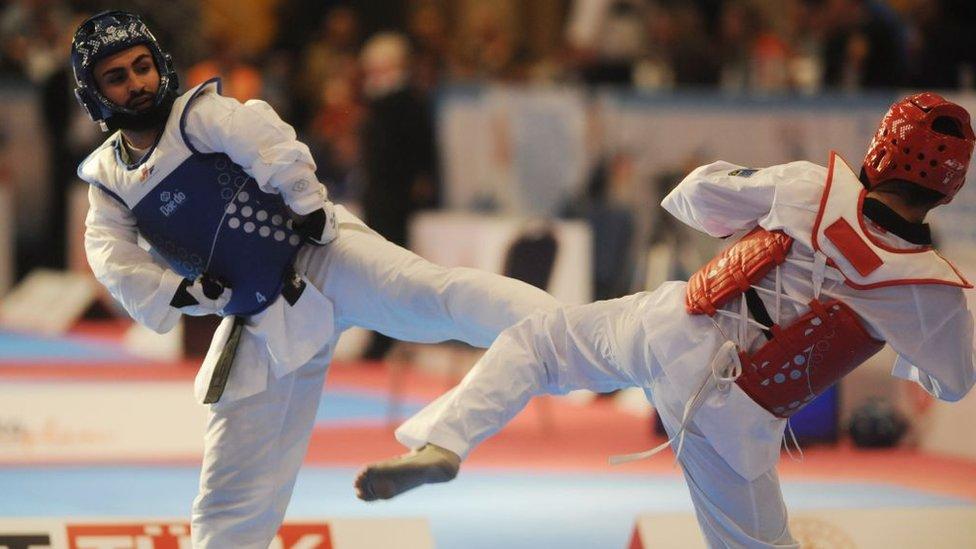 Para-Taekwondo.