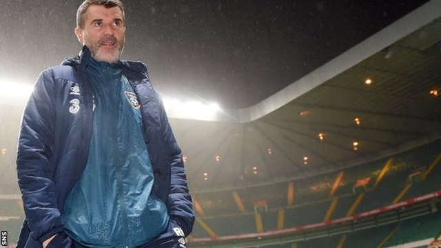 Roy Keane has been linked with the Celtic job