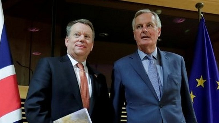 Lord Frost and Michel Barnier
