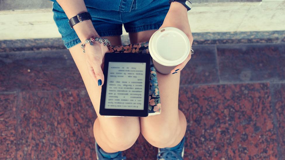 An e-reader