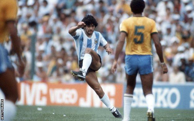 1982年的馬拉多納