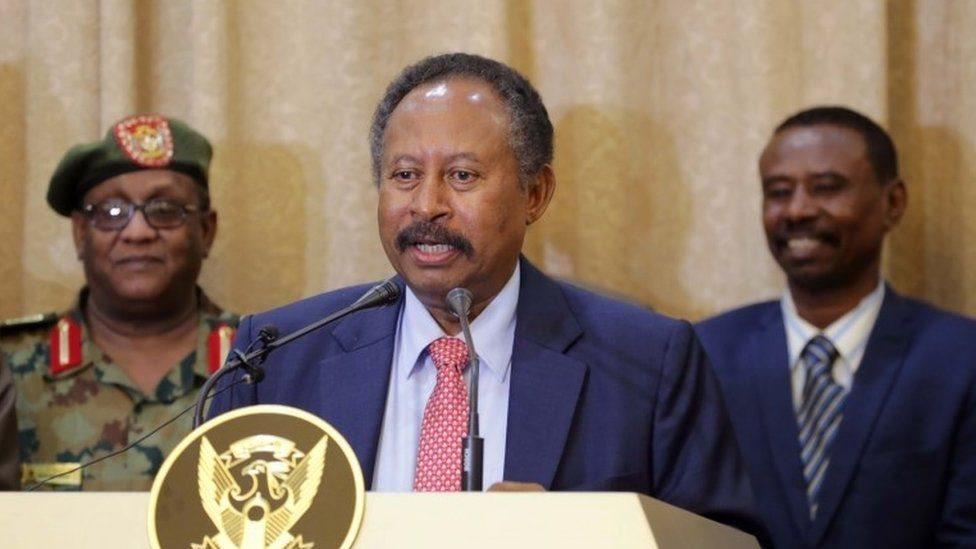 رئيس الوزراء السوداني الجديد عبد الله حمدوك