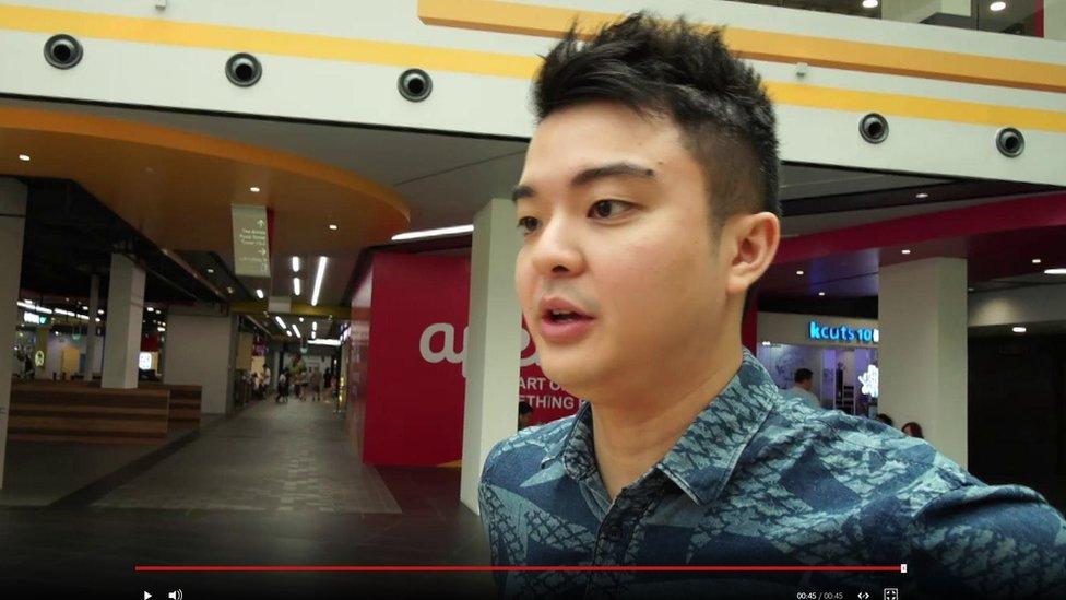 شباب في سنغافورة يقولون إنهم سيتركون هواوي