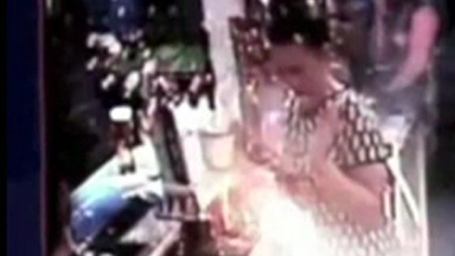 A woman is hit by an exploding e-cigarette