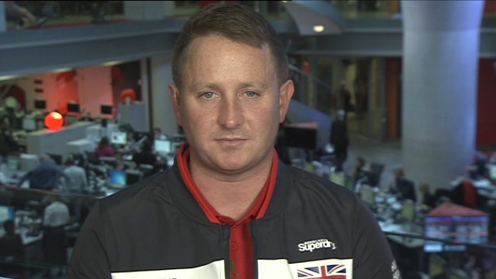 RAF corporal David Morris will be Team UK's vice-captain
