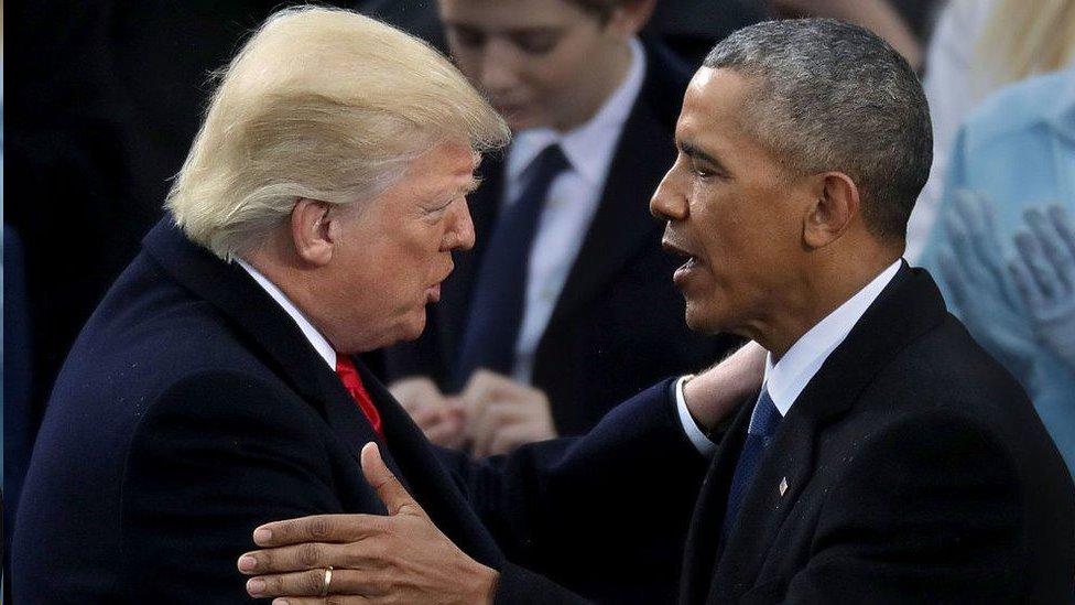 奧巴馬和特朗普