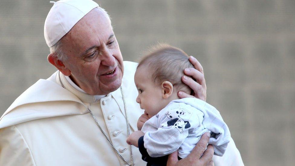 Papa bebek ile