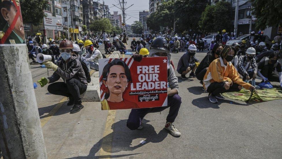 احتجاجات ميانمار