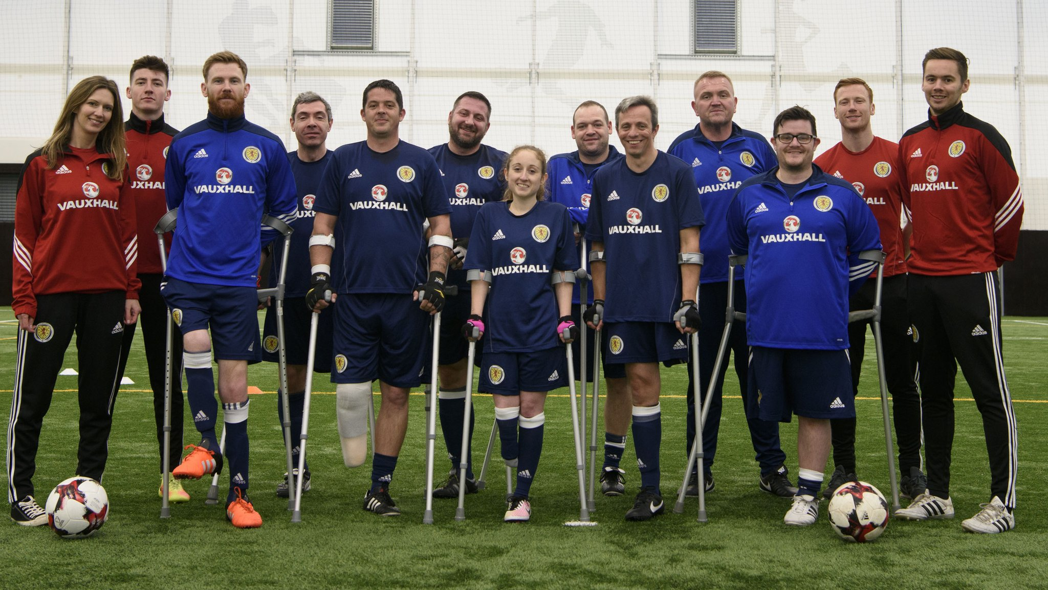First away tie for Scotland amputee team