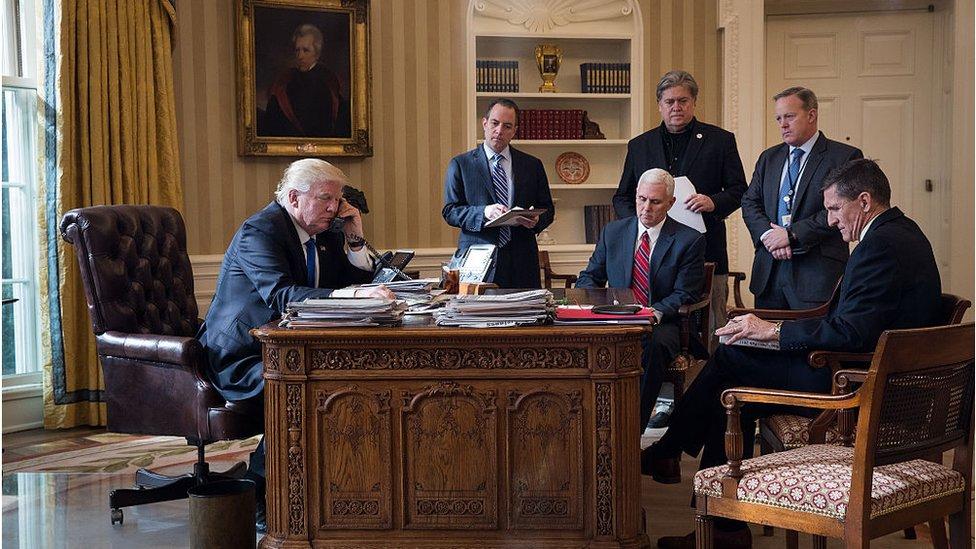 ترامب وأشخاص آخرون