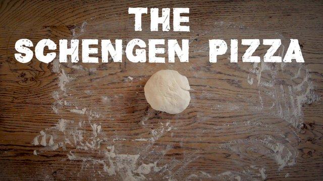 Schengen pizza