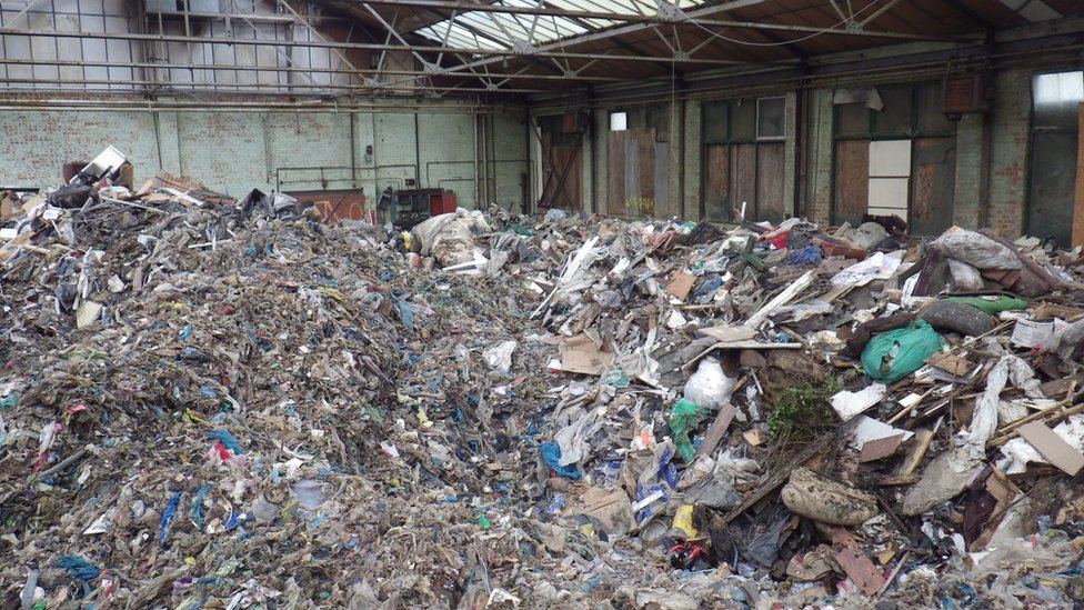 Recycling firm boss jailed for dumping 650 tonnes of waste